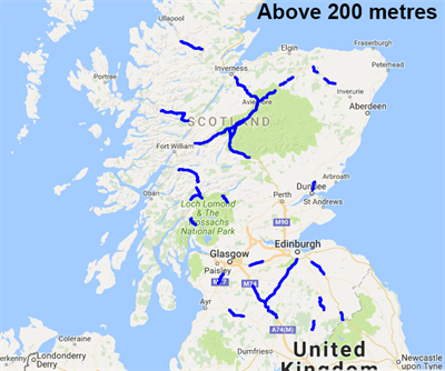 National Traffic Map.Traffic Scotland Winter Gritter Information